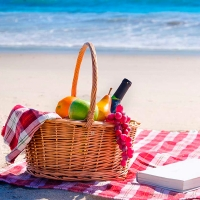 Beachside Picnic Lunch